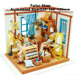 DIY Doll and Activity Houses: with mini furnishing including! (Gift)