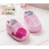 Oh so Whaley Loafers (Blue or Pink) - Little Mr & Mrs Cheeky Pty Ltd