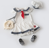 Little Miss Sailor: Romper Set - Little Mr & Mrs Cheeky Pty Ltd