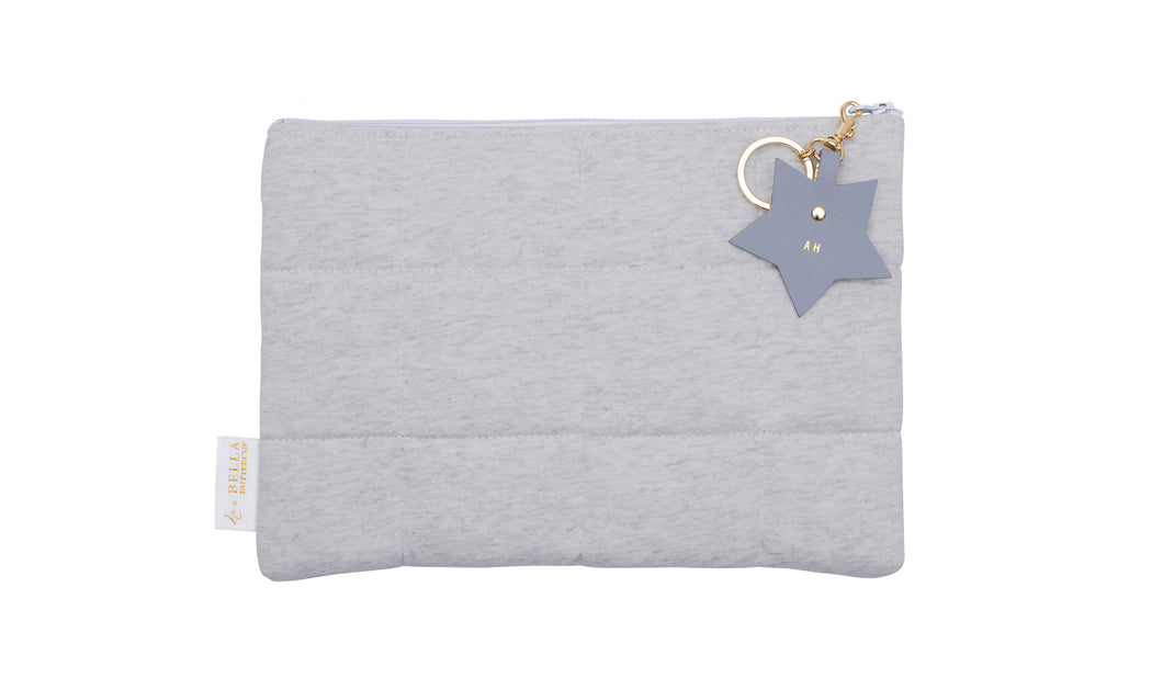 Written In The Stars Nappy Clutch - Grey Marle