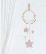 Little Star Wall Hanging - Blush & Gold | Little Connoisseur