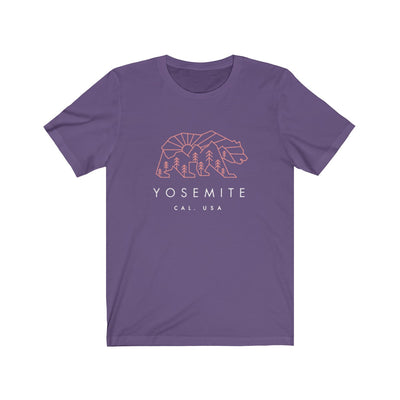 Yosemite National Park Bear - Short Sleeve Tee