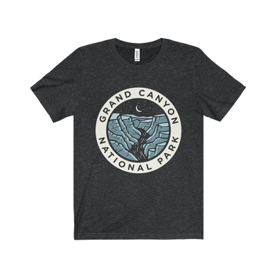 Grand Canyon Dark Sky Badge - Short Sleeve Tee