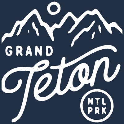 Grand Teton National Park Transfer Sticker