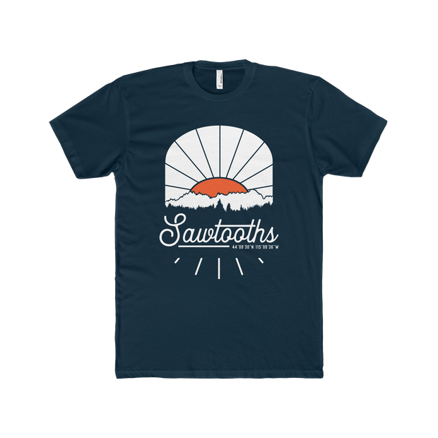 Sawtooth Mountains Sunrise - Short Sleeve Tee