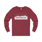 Sawtooth Mountains Vitals - Long Sleeve Tee