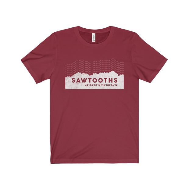 Sawtooth Mountains Vitals - Short Sleeve Tee