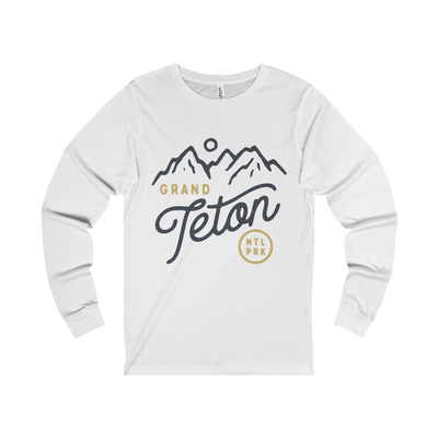 Grand Teton National Park Classic - Long Sleeve Tee