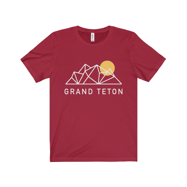 Grand Teton National Park Geo - Short Sleeve Tee
