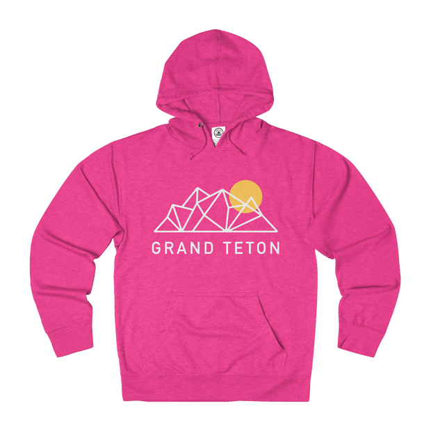 Grand Teton National Park Geo - Sweatshirt
