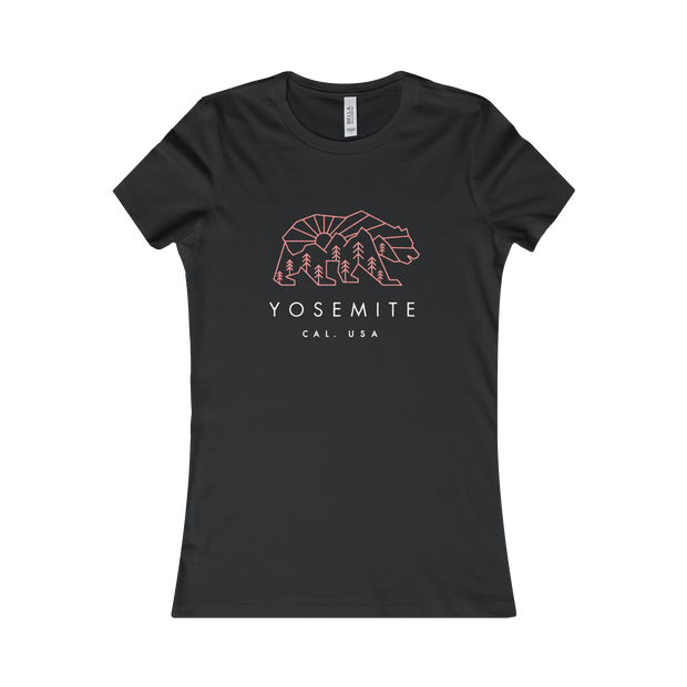Yosemite National Park Bear - Women's Tee