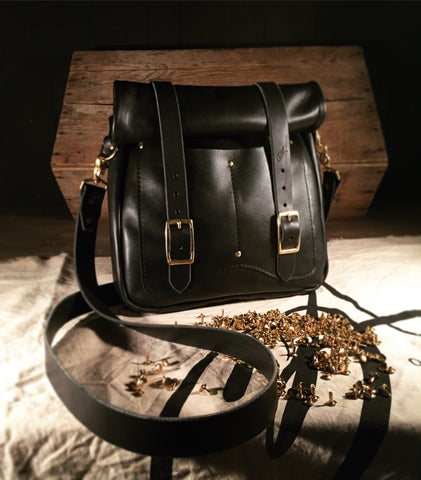 OA Black Satchel