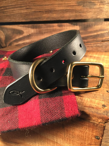 "Dog Collar - 1"" Wide Black"