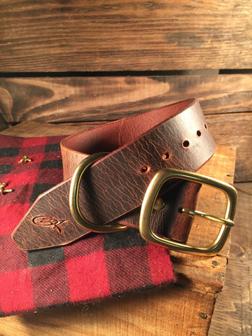 "Dog Collar - 1-1/2"" Wide Brown"
