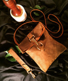 handcrafted leather hand bag