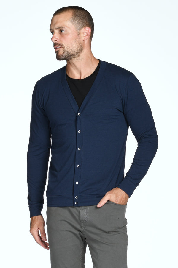 Men's Tri-Blend Cardigan Sweater
