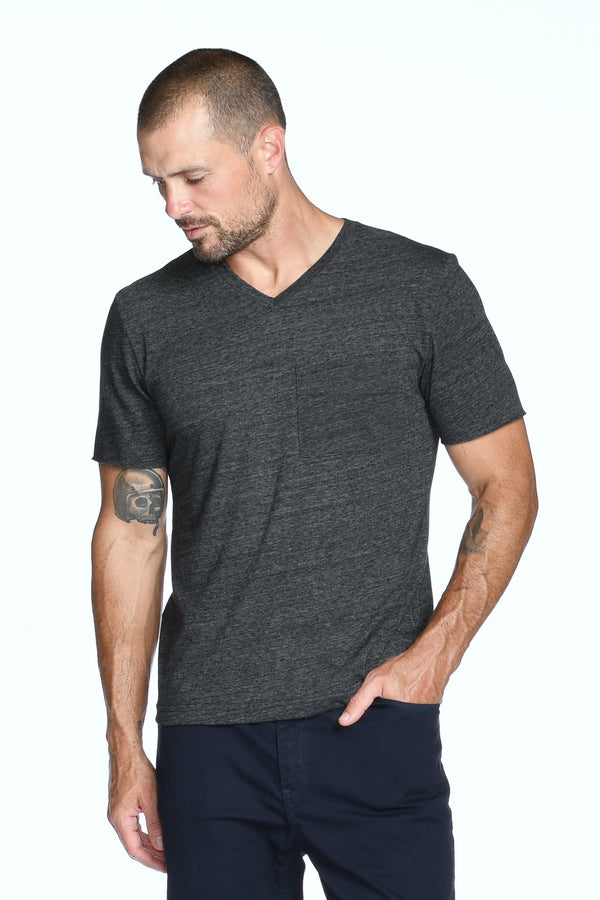 Men's Princeton Wide Pocket V-Neck Tee