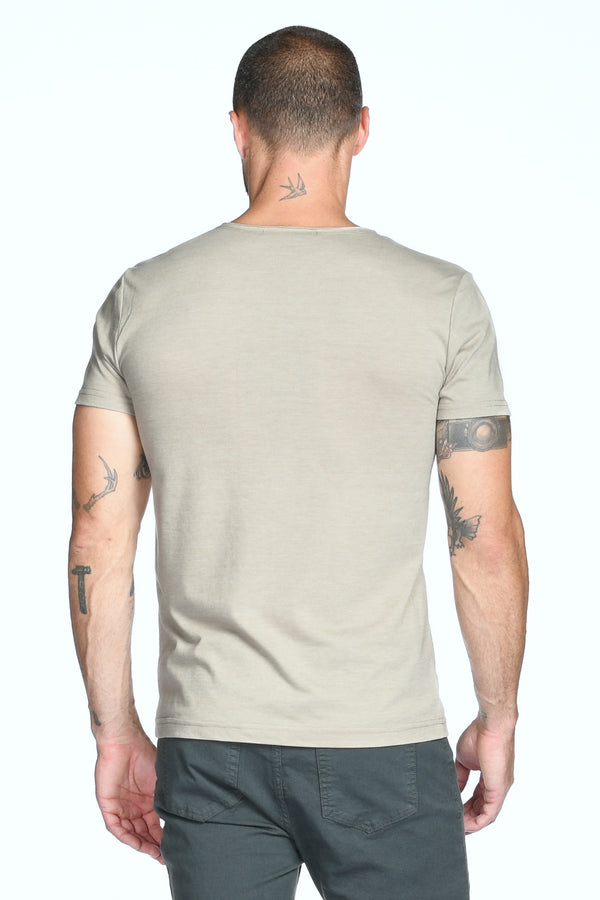 Men's Jersey Crew Neck Pocket Sailor Tee