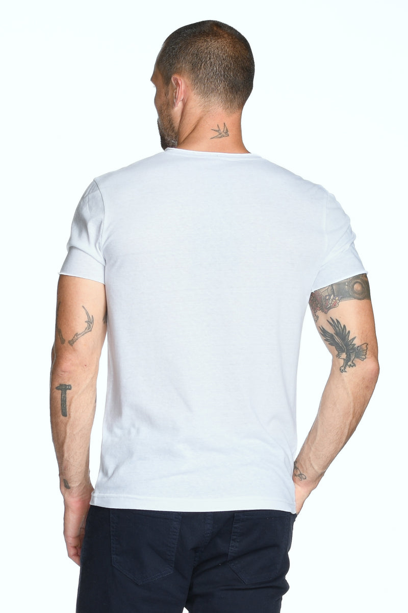Men's Brolin Raw Neck Crew Tee