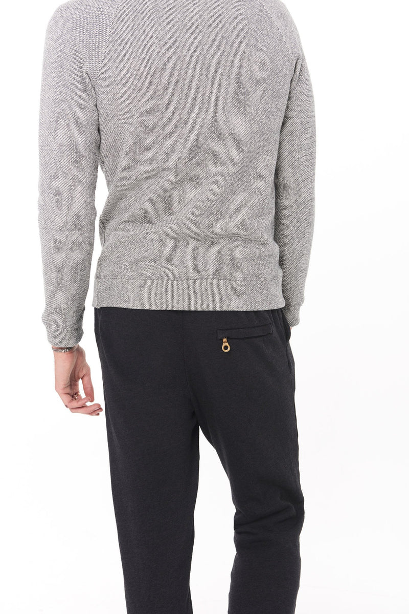 Men's Back Zip French Terry Sweatpant