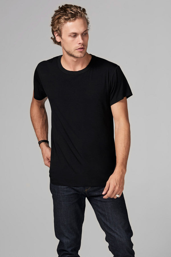 Men's Modal Relaxed Crew Neck Tee