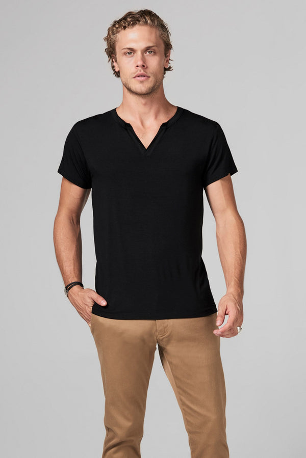 Men's Modal Cross V-Neck Tee