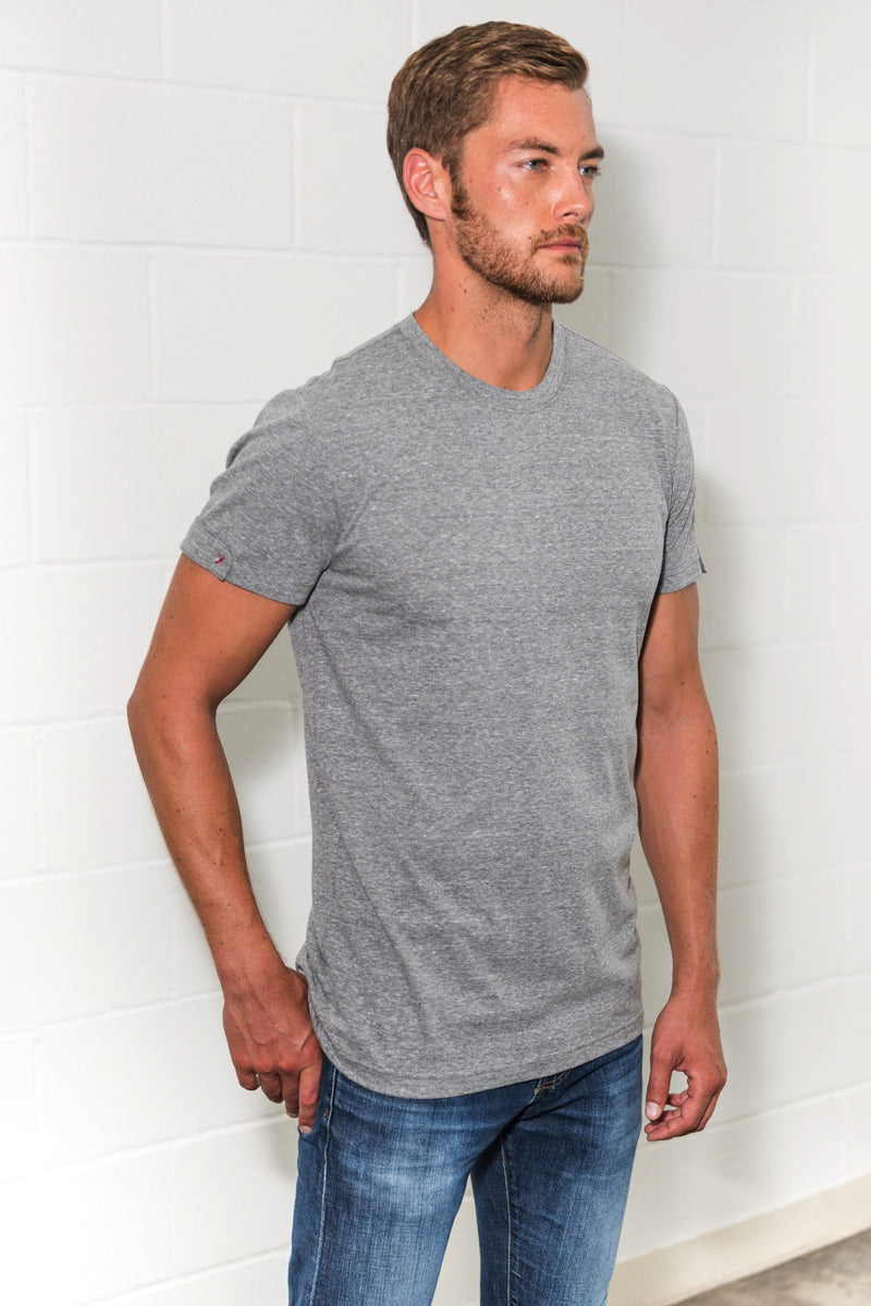 Men's Tri-Blend Tab Sleeve Tee