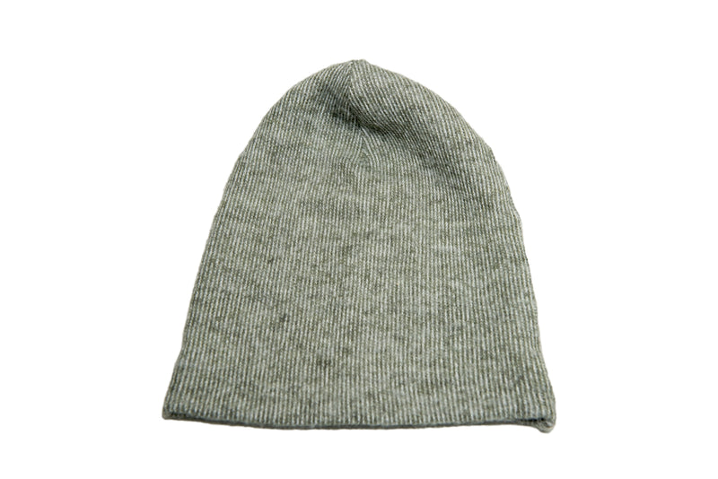 Melange Knit Beanie Cap - Long