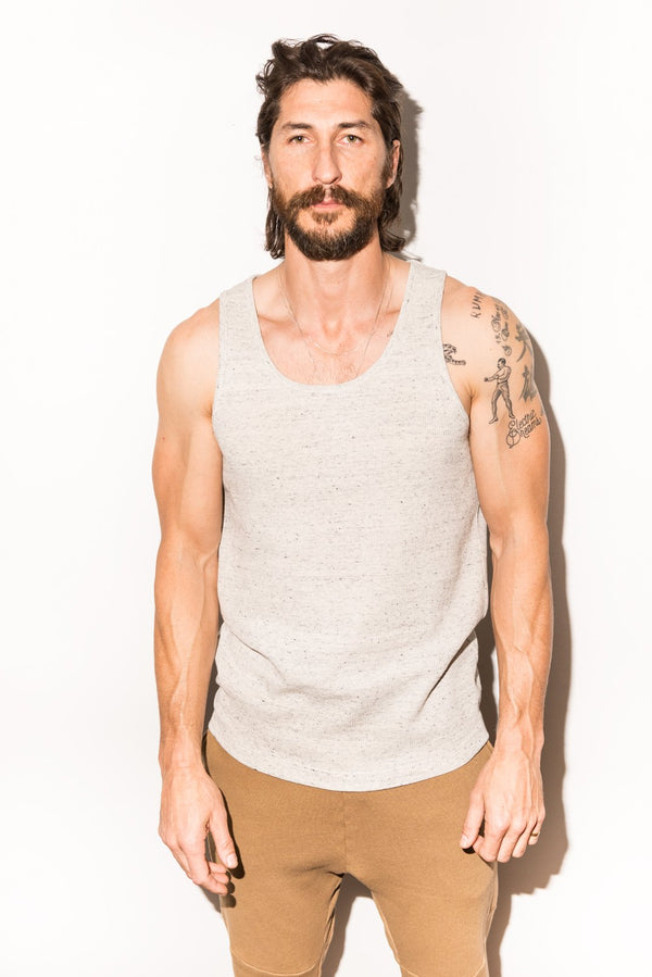 Men's Novelty Texture Tank