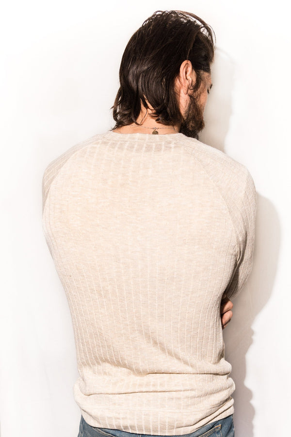 Men's Light Pullover Sweater - Camel