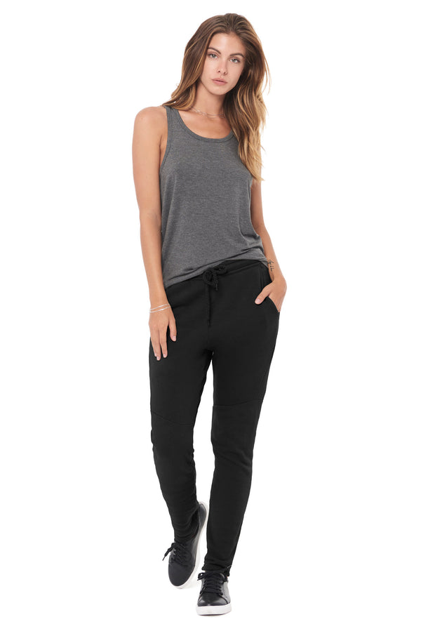 WOMEN'S FRENCH TERRY JOGGER PANT - BLACK