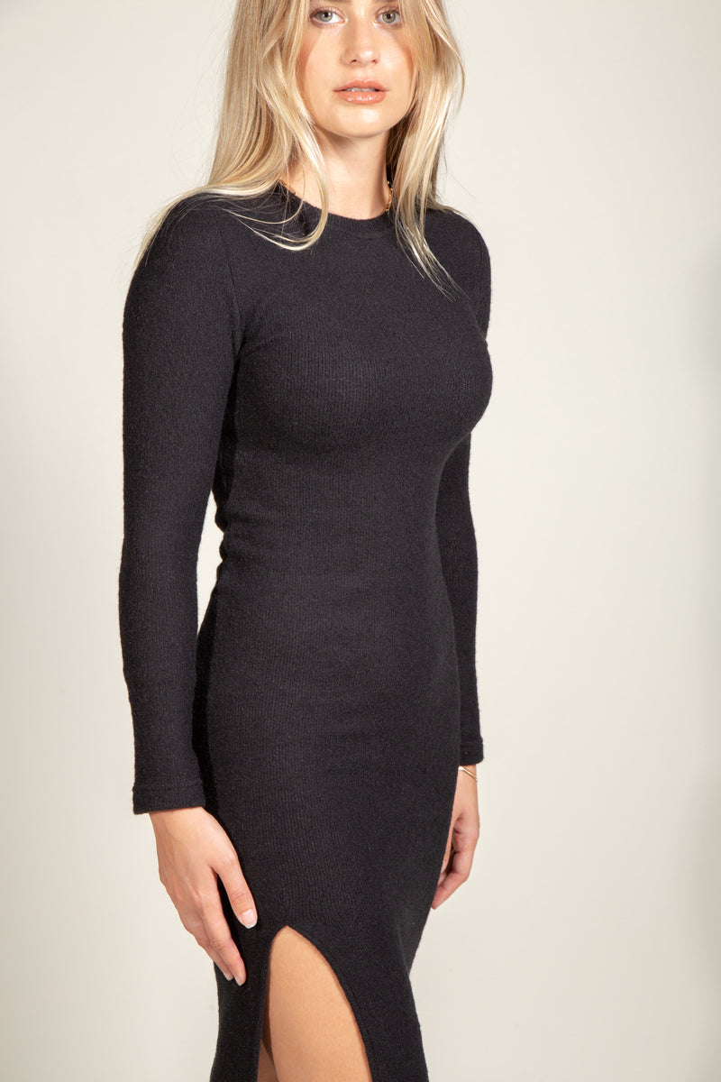 Marilyn Soft Knit Sweater Dress