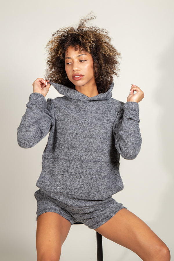 River Soft Knit Hoodie