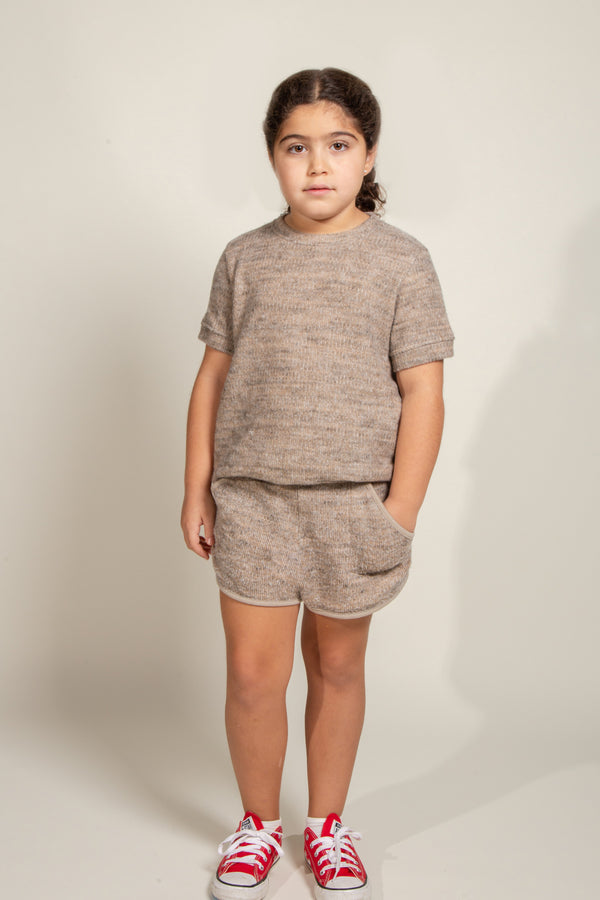 Girl's Soft Knit Short