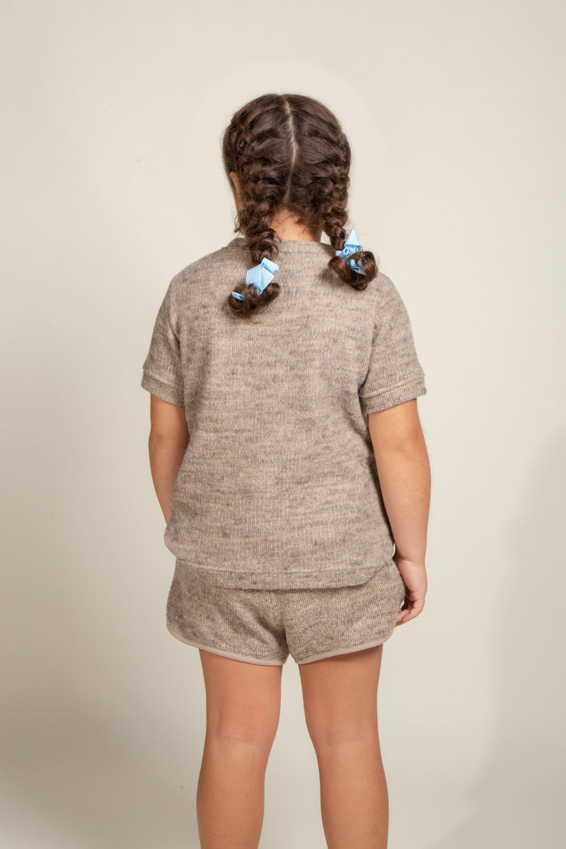 Girl's Soft Knit Novelty Tee