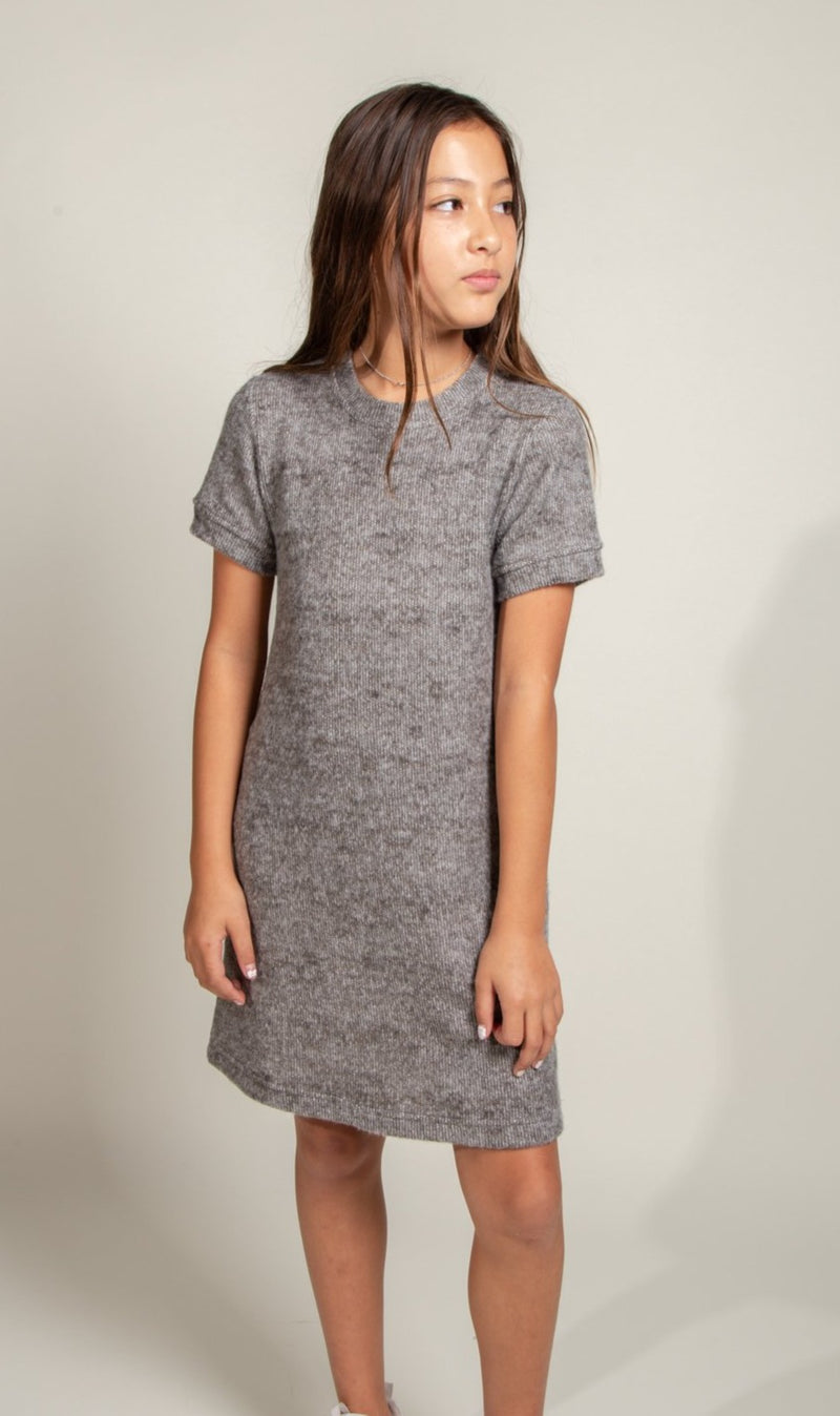 Girl's Soft Knit Dress