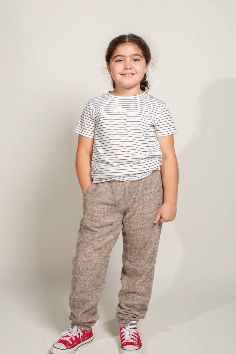 Girl's Soft Knit Jogger