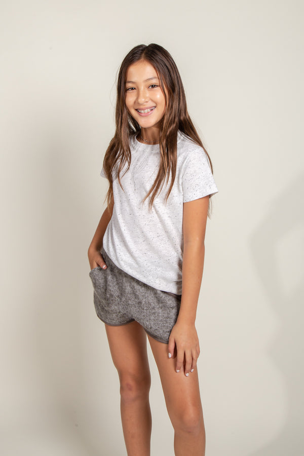 Girl's Multi-Dot Jersey Tee