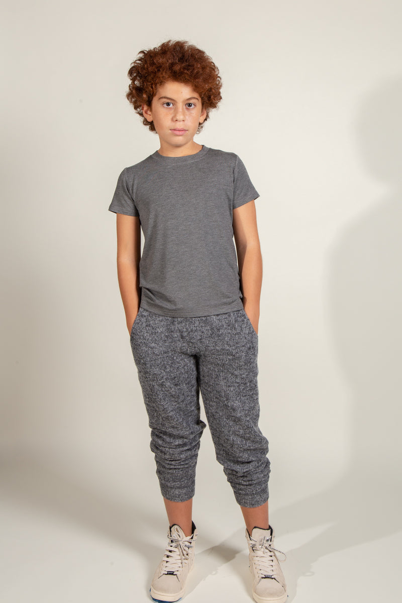 Boy's Soft Knit Jogger