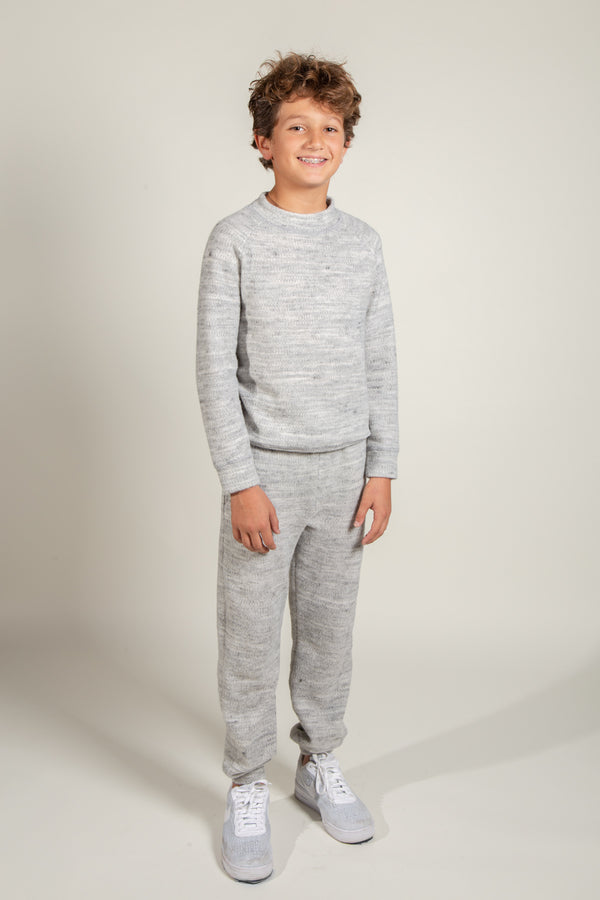 Boy's Soft Knit Crewneck
