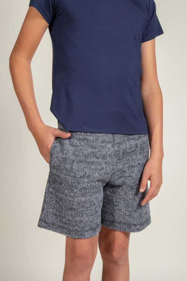 Boy's Soft Knit Short