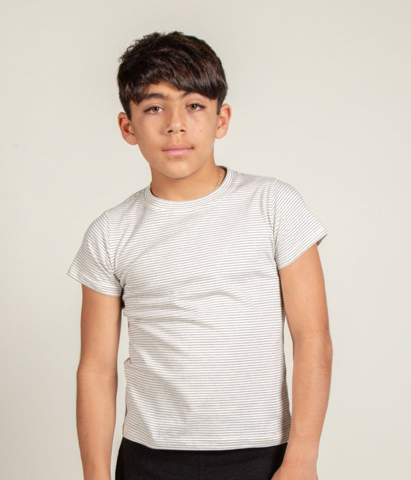 Boy's Jersey Striped Tee