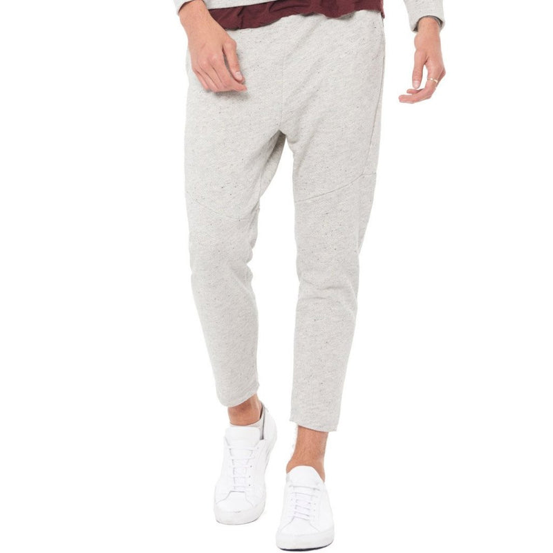 MEN'S LIGHT HEATHER GREY JOGGER PANT
