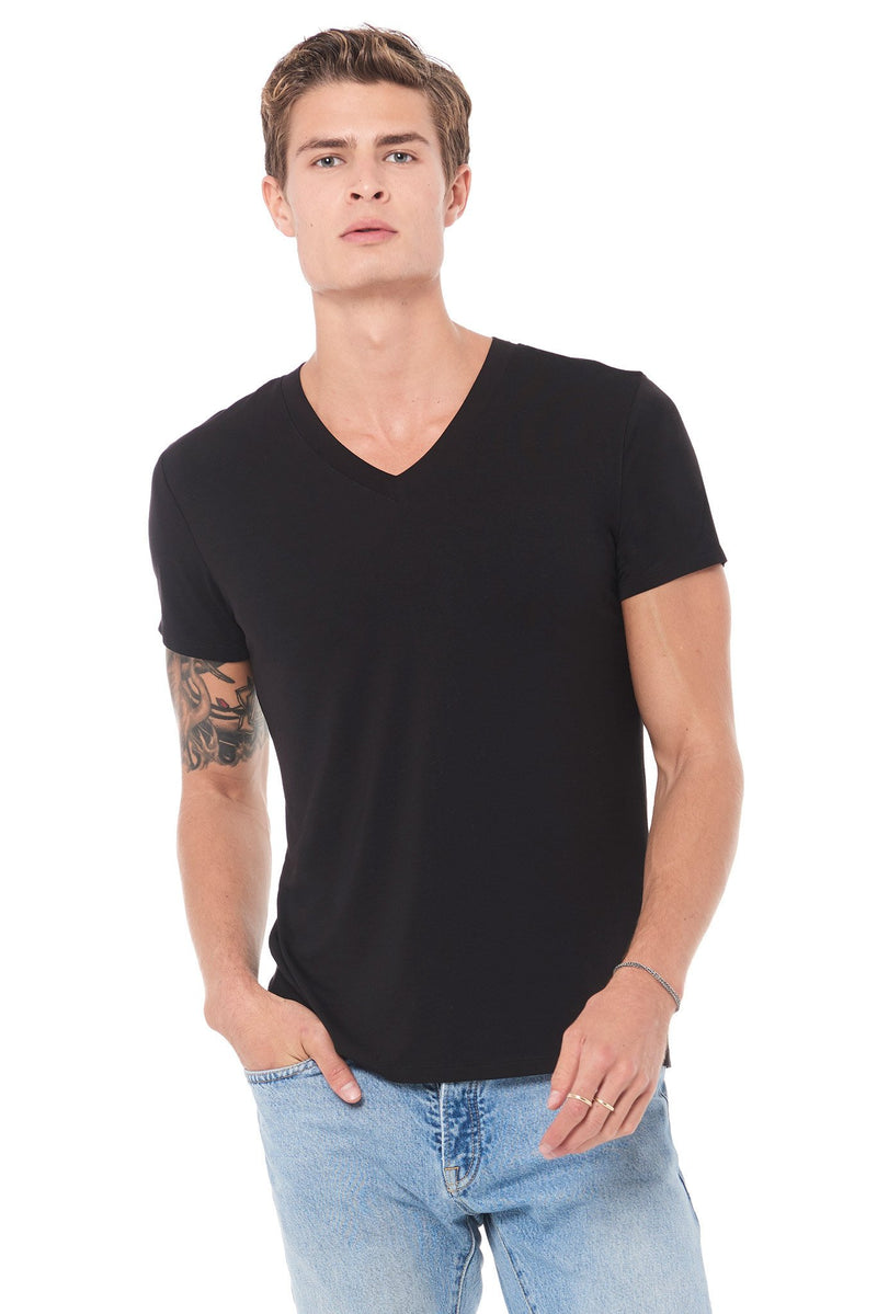 Men's Modal Classic V-Neck Tee