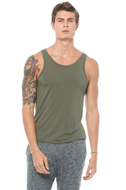 Men's Modal Scoop Neck Tank Top