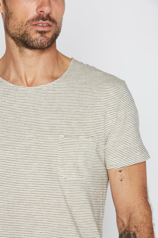 Men's Sailor Pocket Stripe Tee