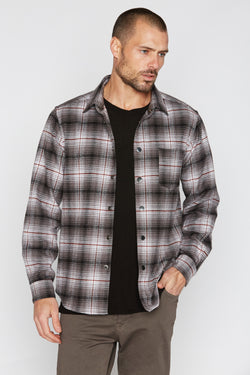 Men's Flannel Button Up