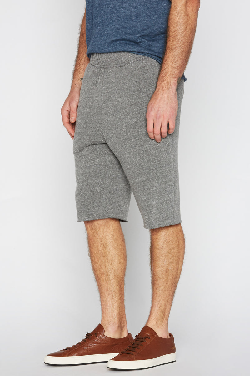 Men's French Terry Cut Off Short