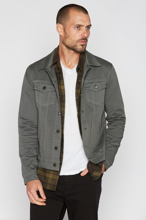 Men's Slim Fit Twill Jacket