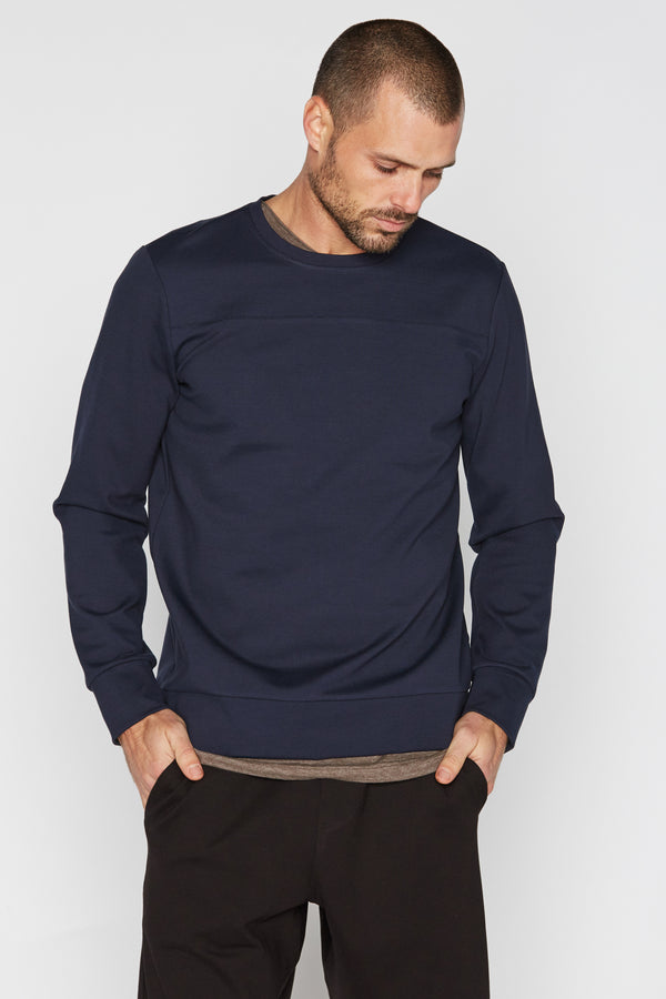 Men's Performance Ponte Top Stitch Sweatshirt